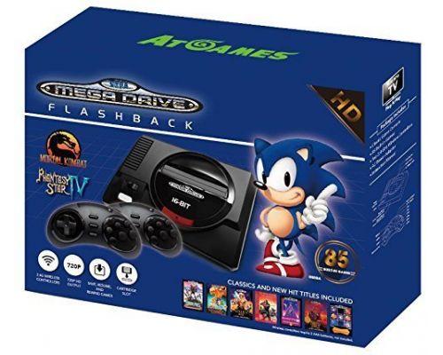 Une Console Retro Sega Mini Megadrive + 85 Jeux