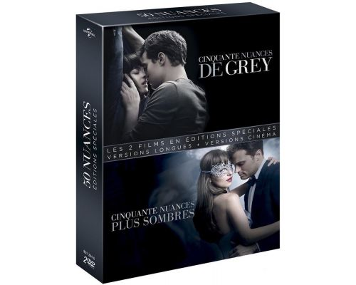 Coffret : Cinquante nuances de Grey + Cinquante nuances plus sombre