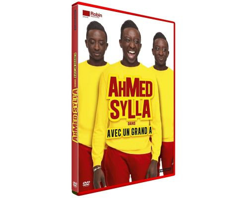 un DVD Ahmed Sylla - Avec un Grand A