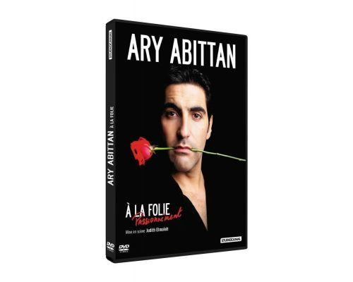 un DVD Ary Abittan A La Folie