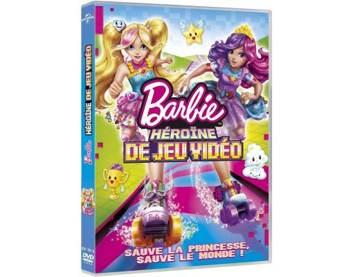 un DVD Barbie Héroïne De Jeu Vidéo