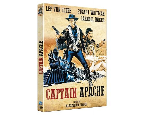 un DVD Captain Apache