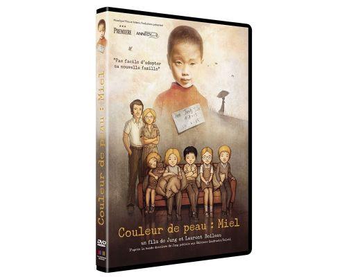 un DVD Couleur De La Peau : Miel
