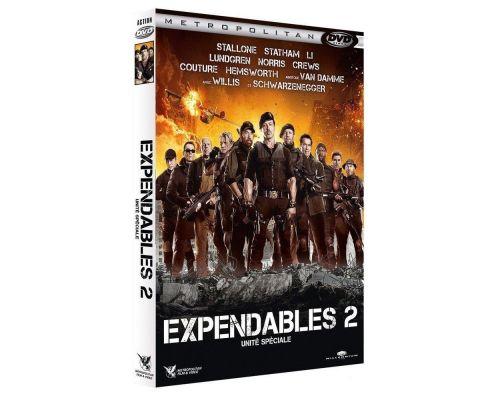 Un DVD Expendables 2 - Unite speciale