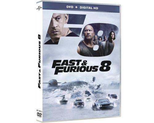 Un DVD Fast & Furious 8