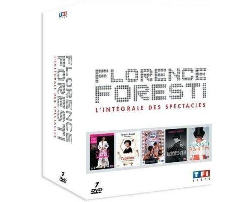 Un Coffret DVD Florence Foresti - L'intégrale des spectacles