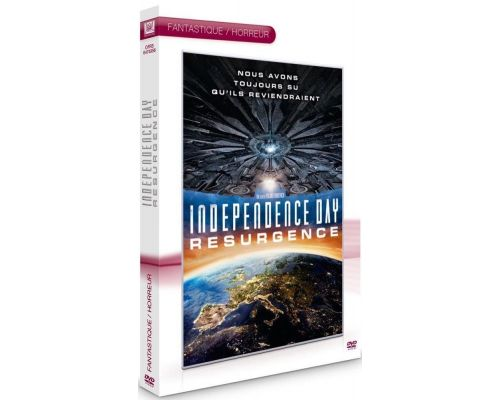 un DVD Independence Day : Resurgence