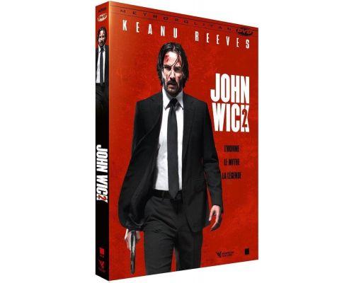 un DVD John Wick 2