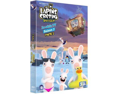 un DVD Lapins Cretins Saison 3 Volume 2