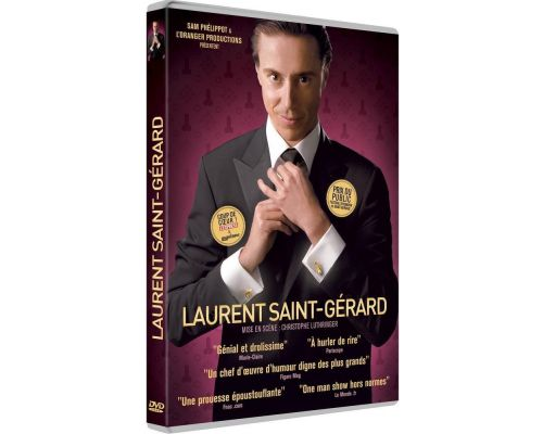 un DVD Laurent Saint-Gérard