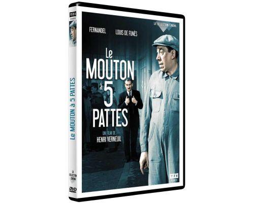 un DVD Le Mouton À 5 Pattes
