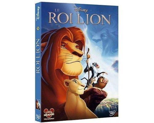 un DVD Le Roi Lion Edition Simple