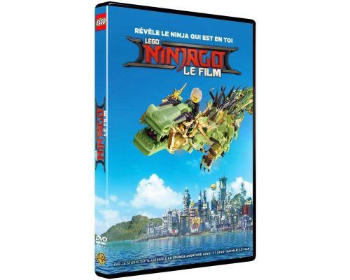 Un DVD Lego Ninjago, le film