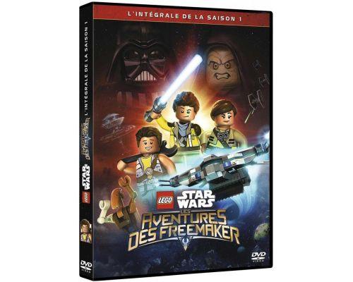un DVD Lego Star Wars Les Aventures Des Freemaker