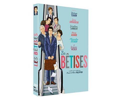 un DVD Les Betises