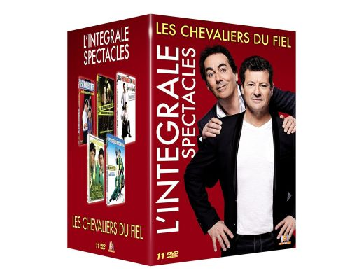 Un Coffret DVD Les Chevaliers du Fiel - L'integrale spectacles