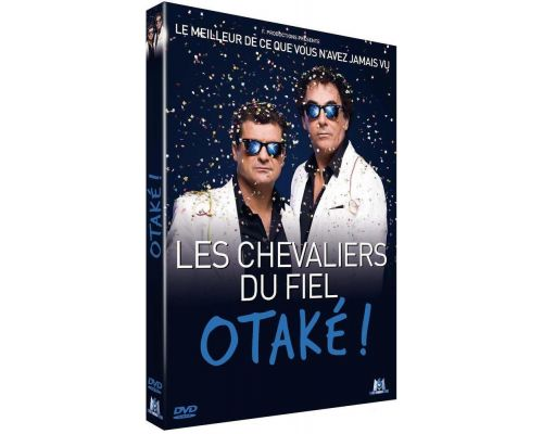 un DVD Les Chevaliers Du Fiel - Otaké !