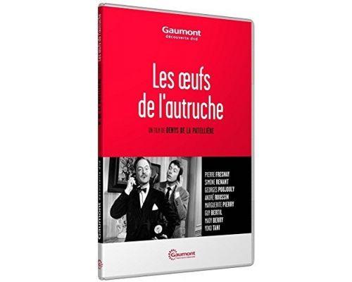 un DVD Les Oeufs De L'Autruche