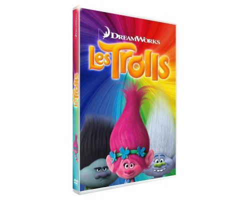un DVD Les Trolls