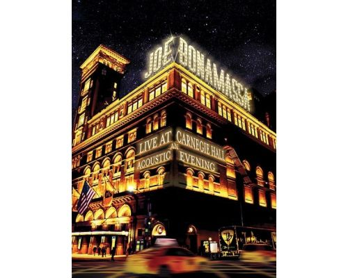 un DVD Live At Carnegie Hall - An Acoustic Evening