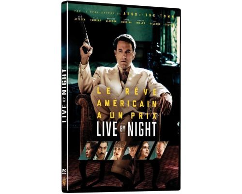 un DVD Live By Night