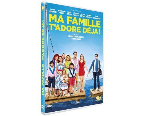 Un DVD Ma famille t'adore déjà
