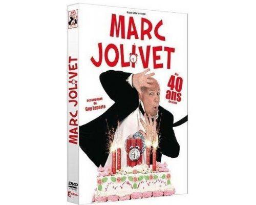 un DVD Marc Jolivet Fête 40 Ans De Scène