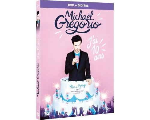 Un DVD Michaël Gregorio - J'ai dix ans