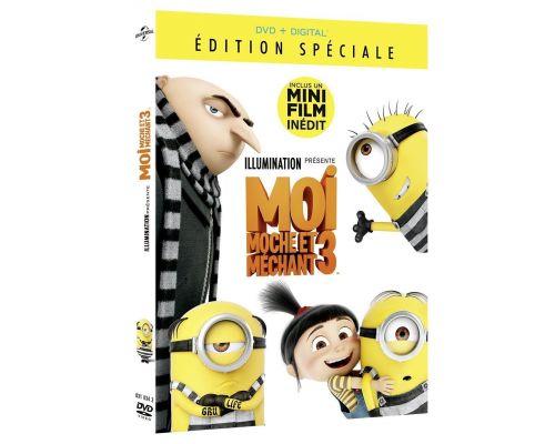 Un DVD Moi moche et mechant 3