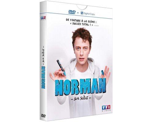 un DVD Norman Sur Scène