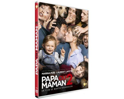 un DVD Papa Ou Maman 2