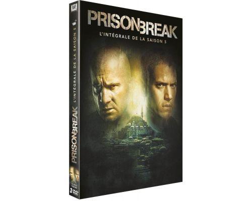 Un DVD Prison Break - L'intégrale de la Saison 5