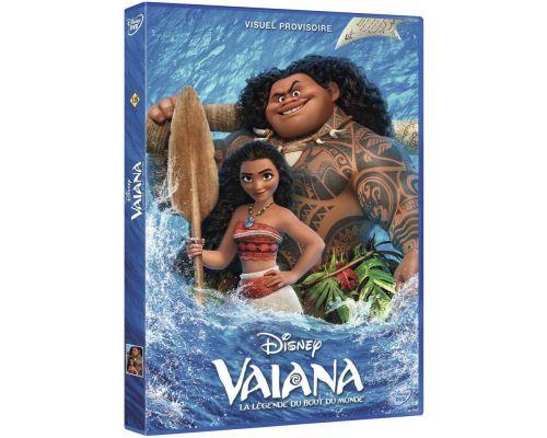 un DVD Vaiana, La Legende Du Bout Du Monde