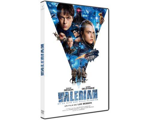 Un DVD Valerian et la Cite des Mille Planetes