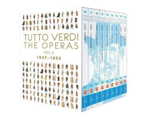 Le volume 2 (1847-1853) de l'intégrale des opéras de VERDI
