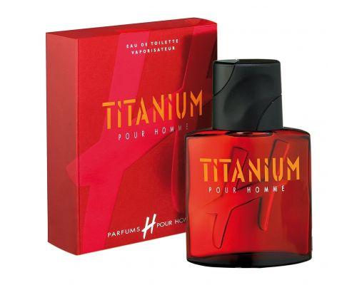 Une Eau de Toilettes H Pour Homme Titanium