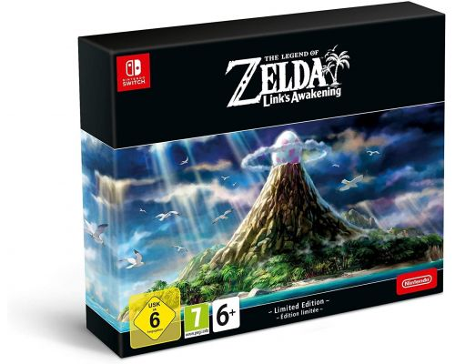 Une Edition collector du jeu Switch The Legend of Zelda: Link's Awakening
