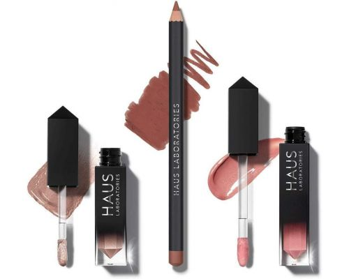 Un Set HAUS of collections by Lady Gaga Eyeshadow, Lip Gloss, Lip Liner
