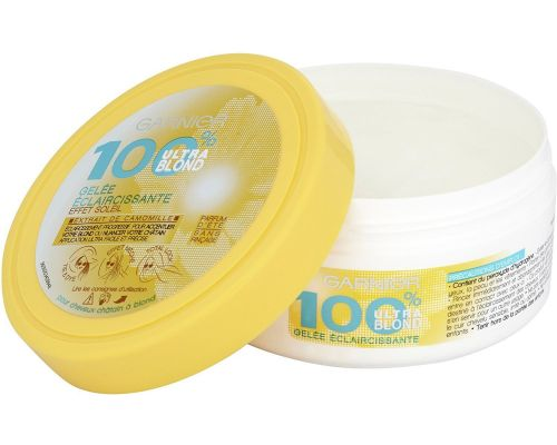 Une Gelee Eclaircissante Garnier - 100% Ultra Blond - Eclaircissant Tie and Dye