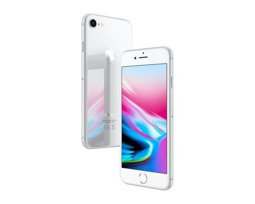 Un iPhone 8 Argent 256 Go