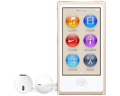 Un iPod Nano 16 Go Or