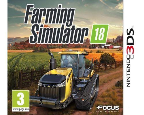 Un jeu Farming Simulator 18 pour 3DS
