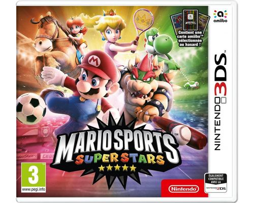 Un Jeu 3DS Mario Sports Superstars + 1 carte amiibo