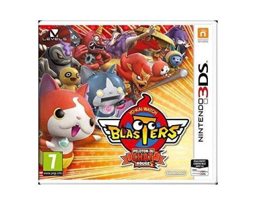 Un jeu 3DS Yo-kai Watch Blasters : Peloton Du Chat Rouge
