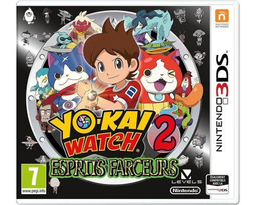 Un Jeu 3S Yo Kai Watch 2 Esprits Farceurs