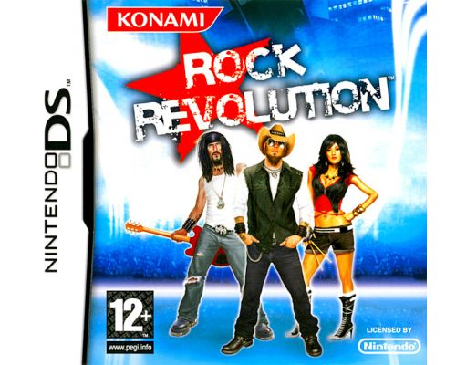 le Jeu DS Rock Revolution