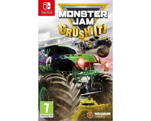 Un Jeu Nintendo Monster Jam: Crush It