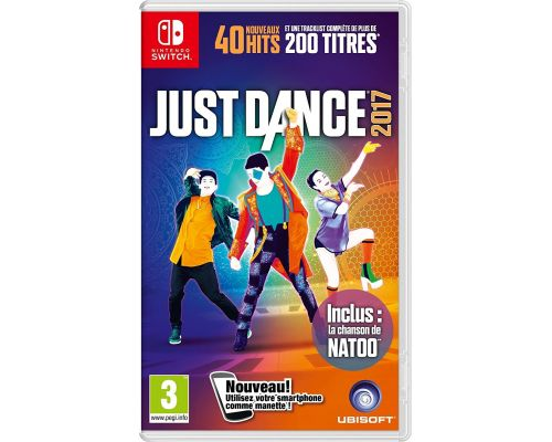 Un Jeu Nintendo Switch Just Dance 2017