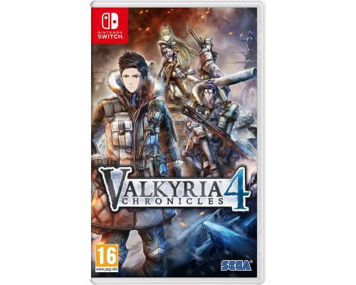 Un Jeu Nintendo Switch Valkyria Chronicles 4