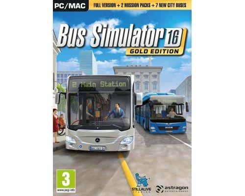 Un jeu Bus Simulator 2016 Gold Edition pour PC